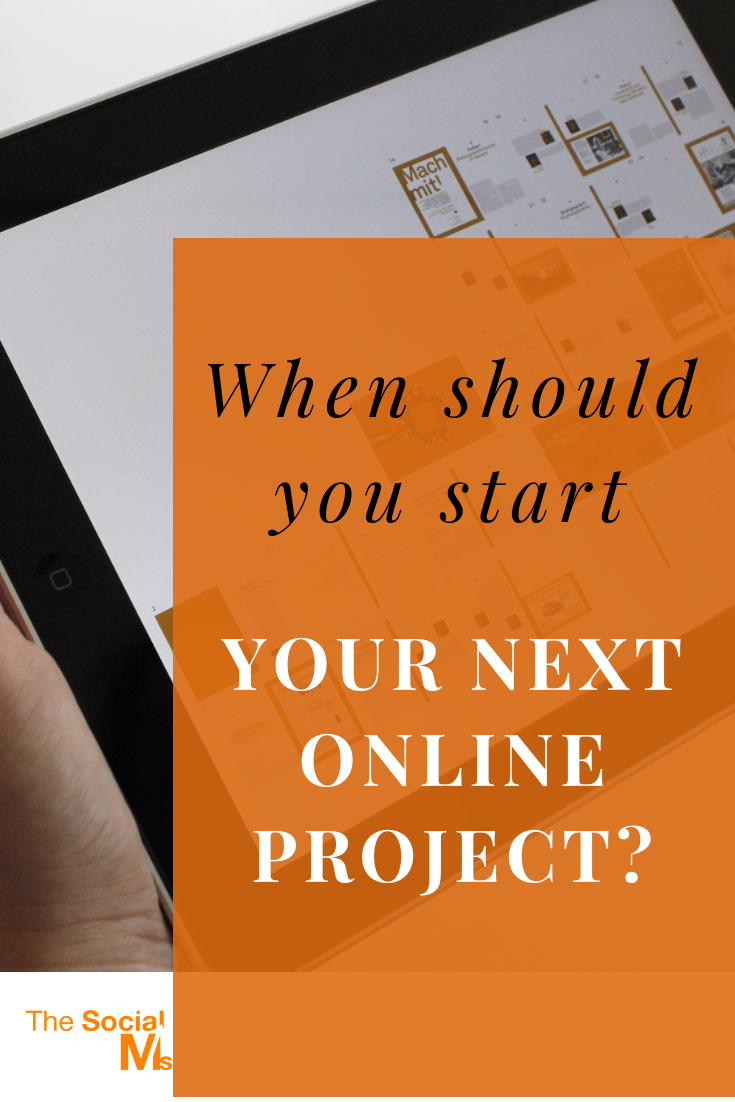 Blogging, Podcasting, Youtube, Facebook Live. Your options for creating content are endless.  And something is always hot...  But when is it really time to start something new? #onlinebusiness #startablog #blogging101 #entrepreneurship #bloggingtips