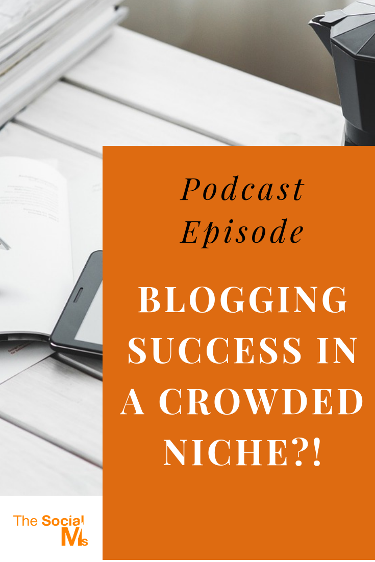 finding a niche without competition is hard - and it's even harder to find one that you really care about. Is it possible to succeed with blogging in a crowded niche? #blogging #bloggingsuccess #bloggingtips #startablog #bloggingforbeginners