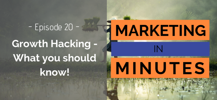 Marketing in Minutes - Growth Hacking