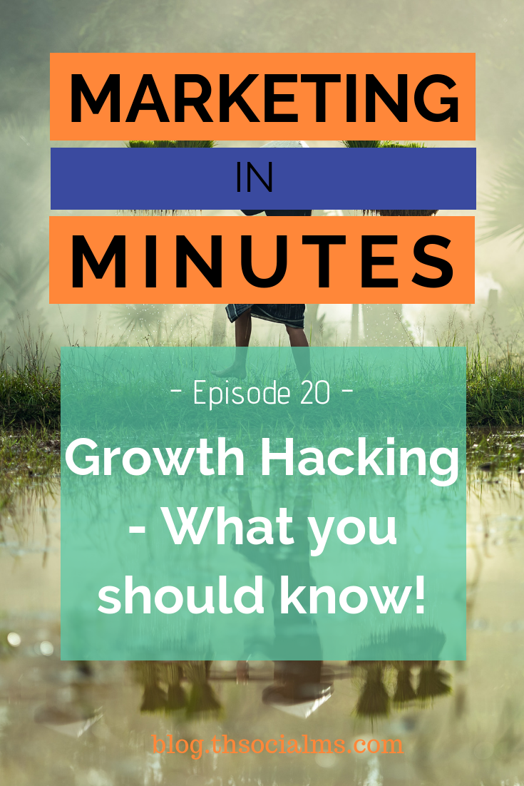 Growth hacking is one of those buzzwords online marketers love and use often. And when someone tells a growth hacking story, it often sounds simply like magic. In this episode of Marketing in Minutes, I will look behind the magic and explain the process that leads to those massive results. #growthhacking #onlinebusiness #digitalmarketing #marketingstrategy