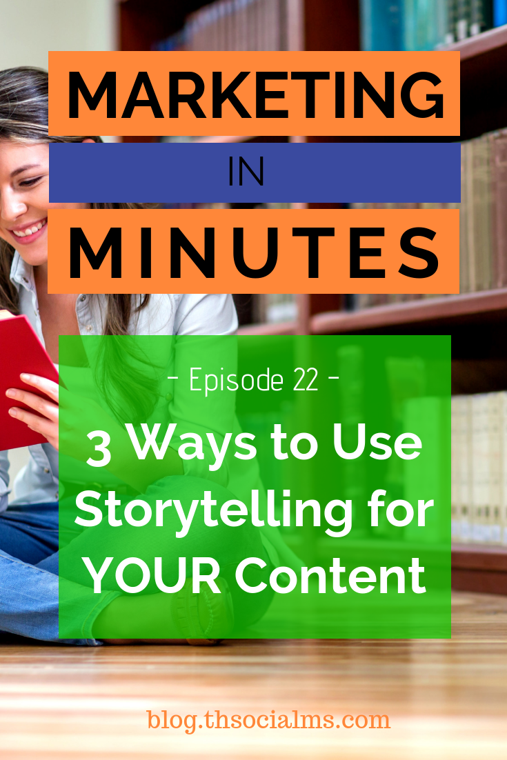 Storytelling can let your content stand out, it makes your content connect with your readers, and it will generate better engagement, traffic, and eventually make you more money. content marketing, blogging tips, content creation, storytelling #contentmarketing #bloggingtips #contentcreation #storytlling