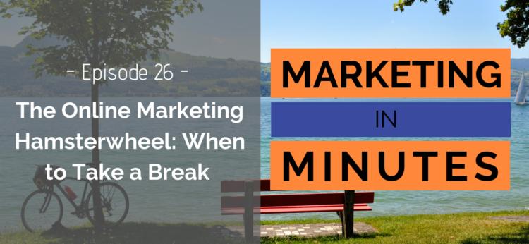 Marketing in Minutes - Online Marketing Hamsterwheel