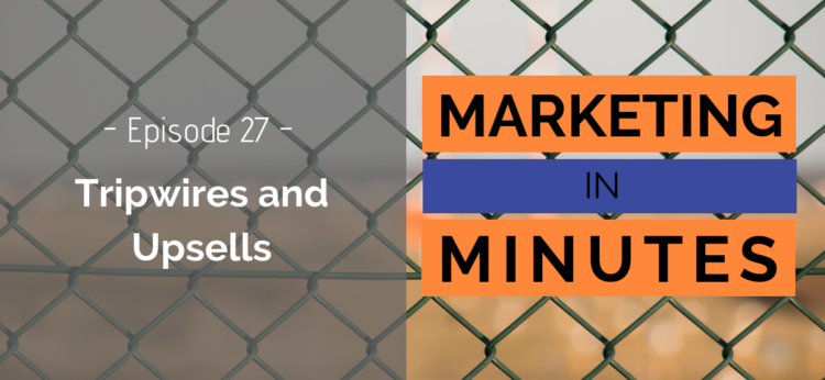 Marketing in Minutes - Tripwires and Upsells