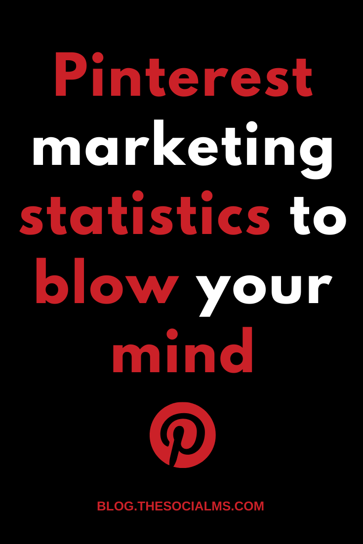 Many marketers choose to ignore Pinterest for their marketing efforts... That's a big mistake. In this episode of Marketing in Minutes you will learn about some Pinterest marketing statistics that will blow your mind and make you start your marketing journey on Pinterest right now! #pinterest #pinterestips #pinterestmarketing #pinterestfacts