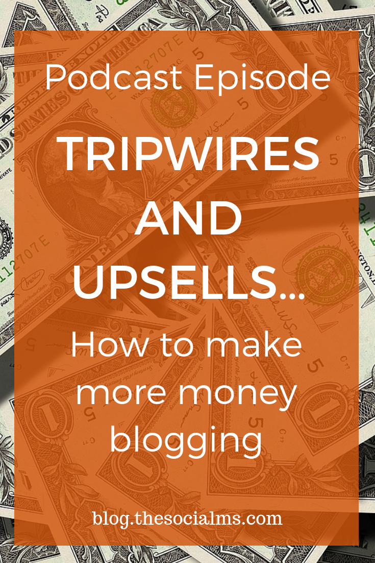 What if I would tell you that you could double your revenue without getting more traffic? Tripwires and Upsells are important tactics you can use to make more money - without getting a single click more on your website.