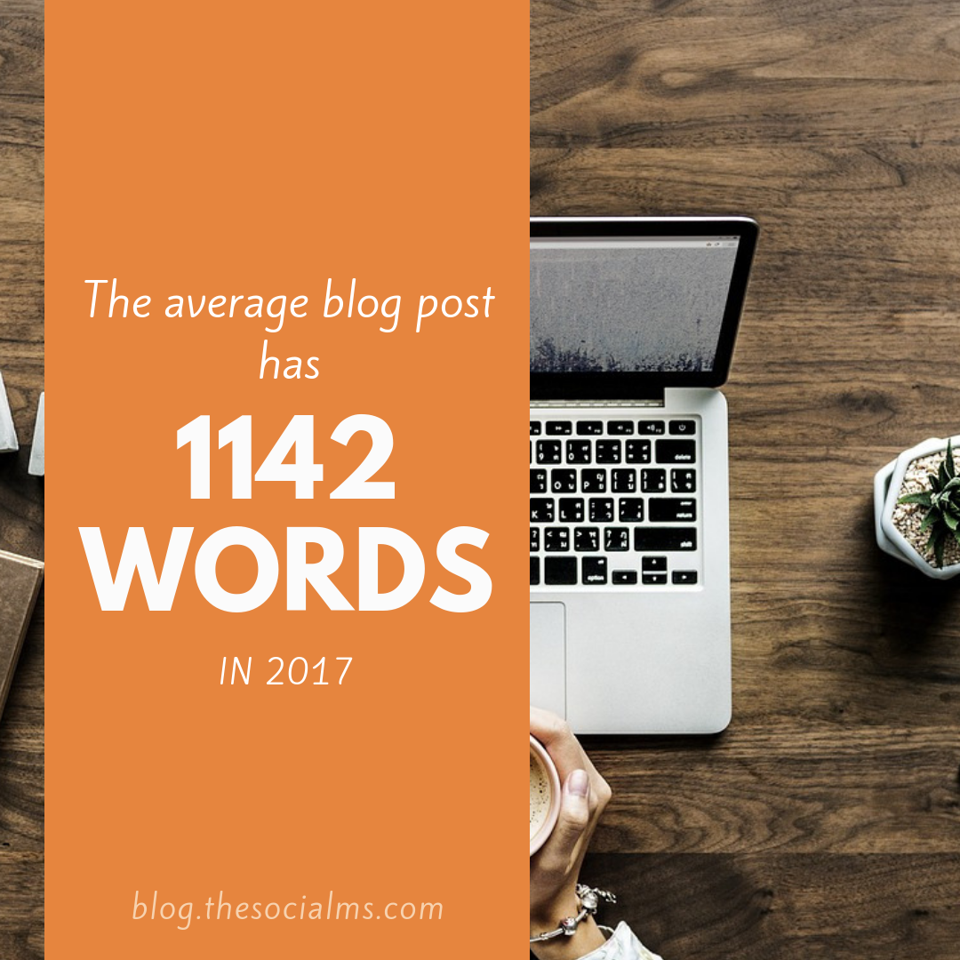 the average blog post has 1142 words