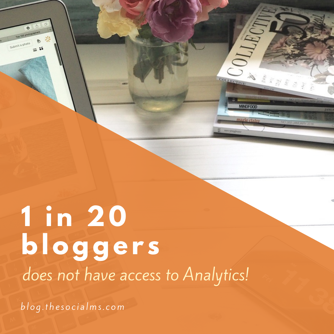 too many bloggers neglect analytics