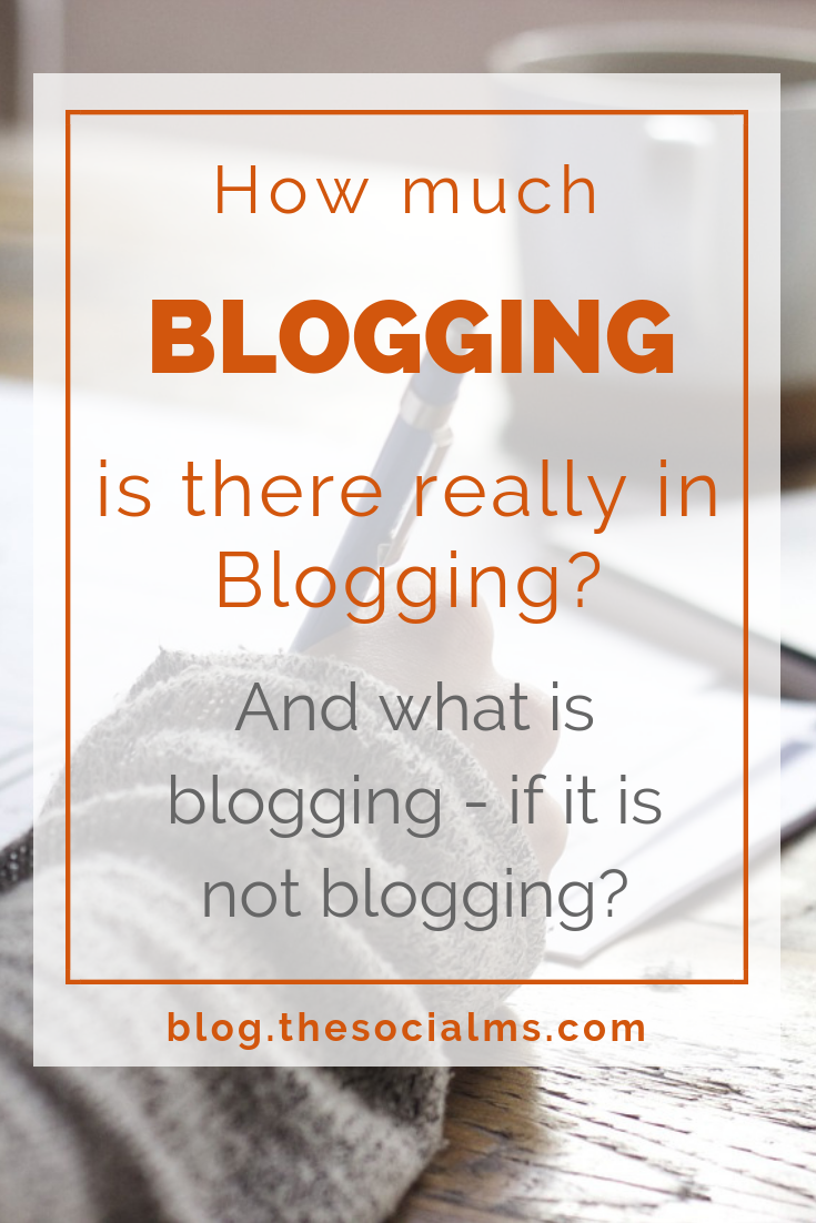 "How much time time does a blogger actually spend on what others perceive as the ""blogging"" work? And what other tasks are involved in blogging? blogging tips, start a blog, blogging for beginners #bloggingtips #bloggingforbeginners #startablog"