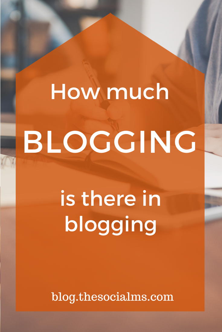 Do you know how a blogger spends his/her time? If you are not a blogger, your perception most likely is that bloggers sit at their computer and write blog posts - or arrange the kitchen and take photos to document the recipe they are blogging about. But that is by far not all that a blogger does. Here is what else blogging is all about #bloggingtips #blogging101 #bloggingforbeginners #startablog