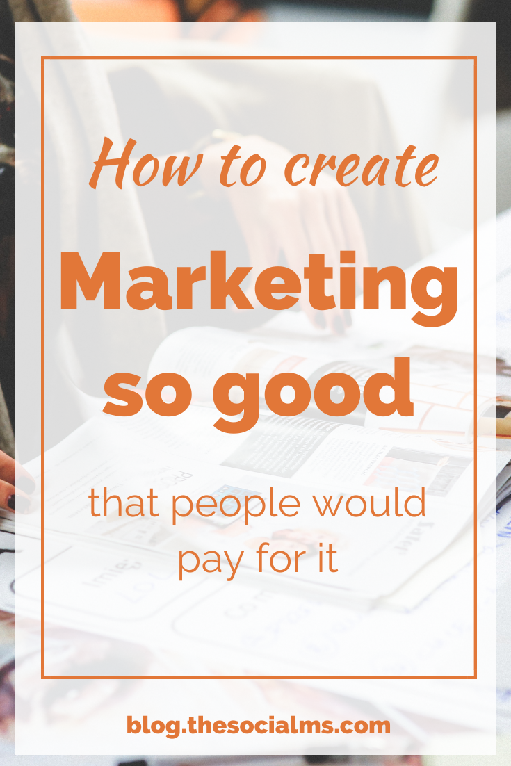 What if you could do marketing that good, that even if you asked for money, people would pay to watch your ads or consume your content. #marketingstrategy #onlinemarketing #contentmarketing #digitalmarketing #salesfunnel