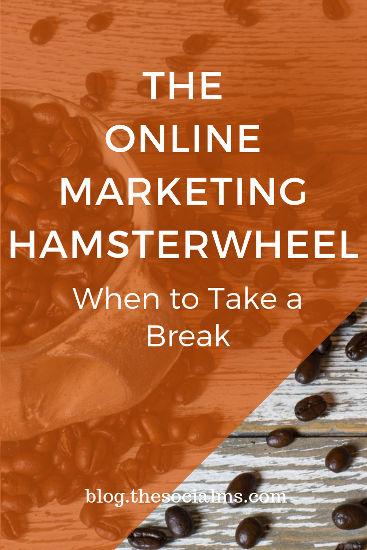 Sometimes you just need a break. Here is why, when, and how to take a break from your online marketing activities. #onlinemarketing #digitalmarketing #onlinebusiness #entrepreneurship #marketingstrategy #marketinginminutes