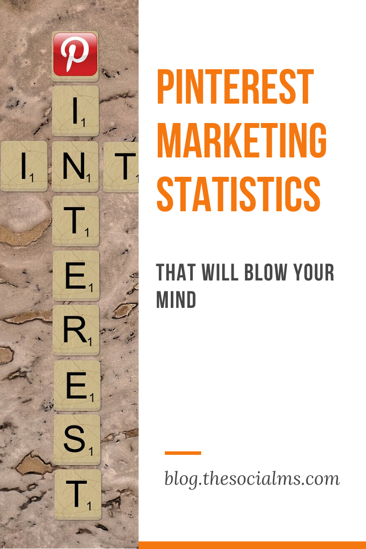 Many marketers choose to ignore Pinterest for their marketing efforts… That's a big mistake. Here are some Pinterest marketing statistics that will blow your mind and make you start your marketing journey on Pinterest right now! #pinterest #pinterestmarketing #pinteresttip #marketingstatistics #socialmedia #socialmediatips #socialmediamarketing