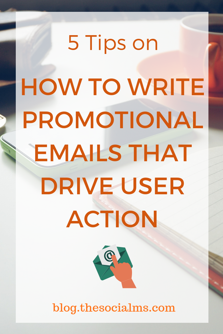 Emails that drive the desired user action can be the key to success. Here are the best tips on how to structure a promotional email to achieves its goal. email marketing, sales funnel, online business, online selling, email marketing tips #emailmarketing #promotionalemail #onlinebusiness #bloggingtips
