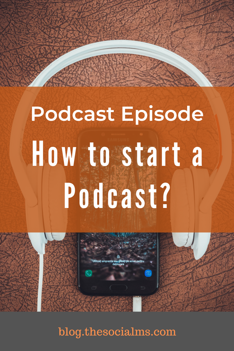 A podcast can be the next step for your business – or the start of it. But how do you start one? What are the steps you need to go through? #podcast #startapodcast #startablog #bloggingtips #onlinebusiness #contentcreation