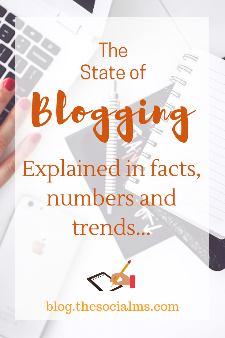 This post looks at the state of blogging in facts, numbers, and statistics. We will figure out what it takes to be successful with a blog business. blogging tips, blogging for beginners, facts about blogging, online business, start a blog #bloggingtips #bloggingforbeginners #bloggingfacts #startablog #onlinebusiness