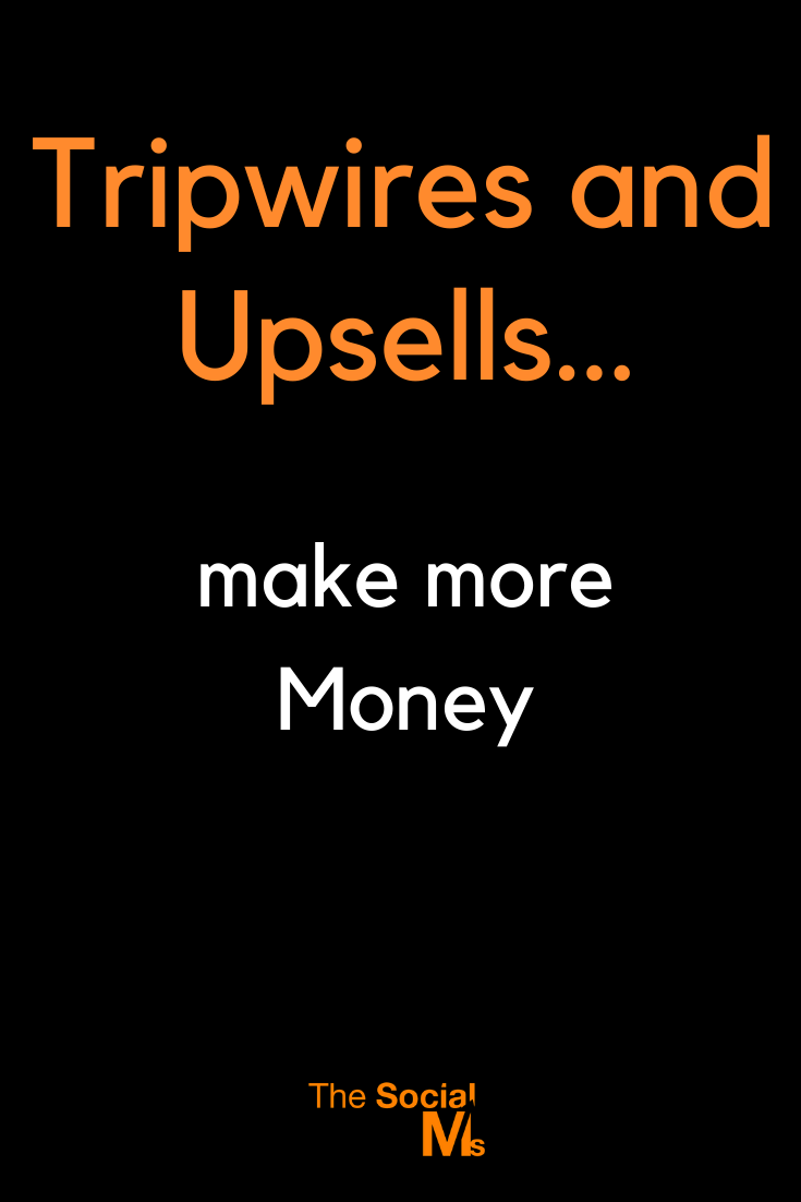 What if I would tell you that you could double your revenue without getting more traffic? learn about Tripwires and Upsells, two important tactics you can use to make more money - without getting a single click more on your website. #makemoneblogging #bloggingformoney #entrepreneurship #startupmarketing #smallbusinessmarketing #onlinebusiness