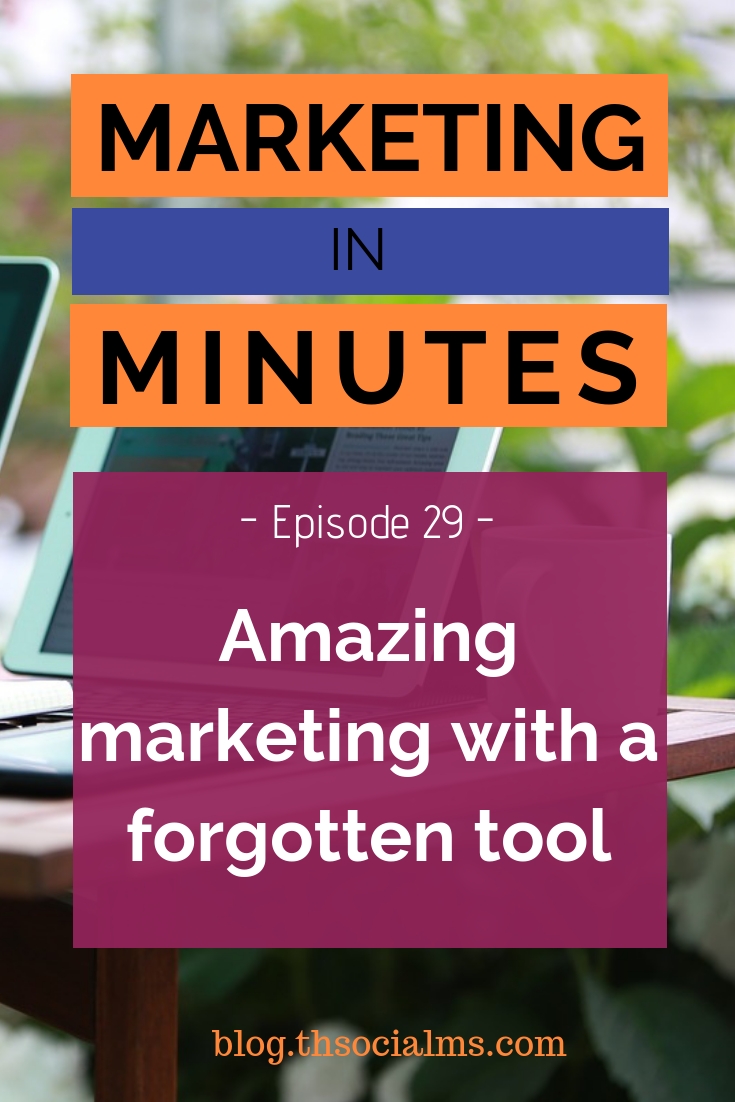 There is a marketing toolset that many people know about but have no idea why to use it or how: Link Shorteners. Here you will learn how and why to use them! #marketingtools #digitalmarketing #smallbusinessmarketing #marketinginminutes