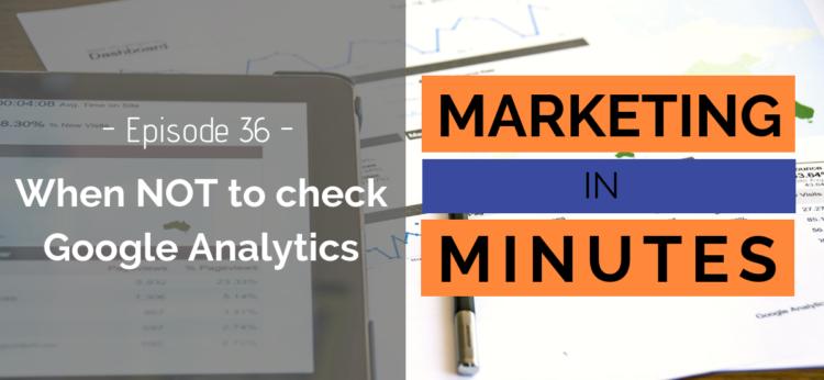 Marketing in Minutes - Google Analytics