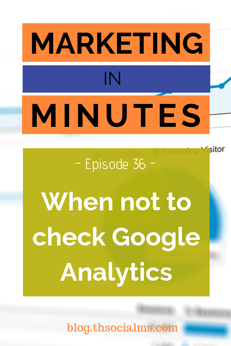 Google Analytics is a very powerful tool - you need the data to grow your marketing and blog. Google Analytics can also be addictive and make you focus too much on numbers that do not have your answers. #googleanalytics #bloganalytics #marketingmetrics #blogmetrics #blogmonitoring #marketinganalytics #marketingdata #marketinginminutes