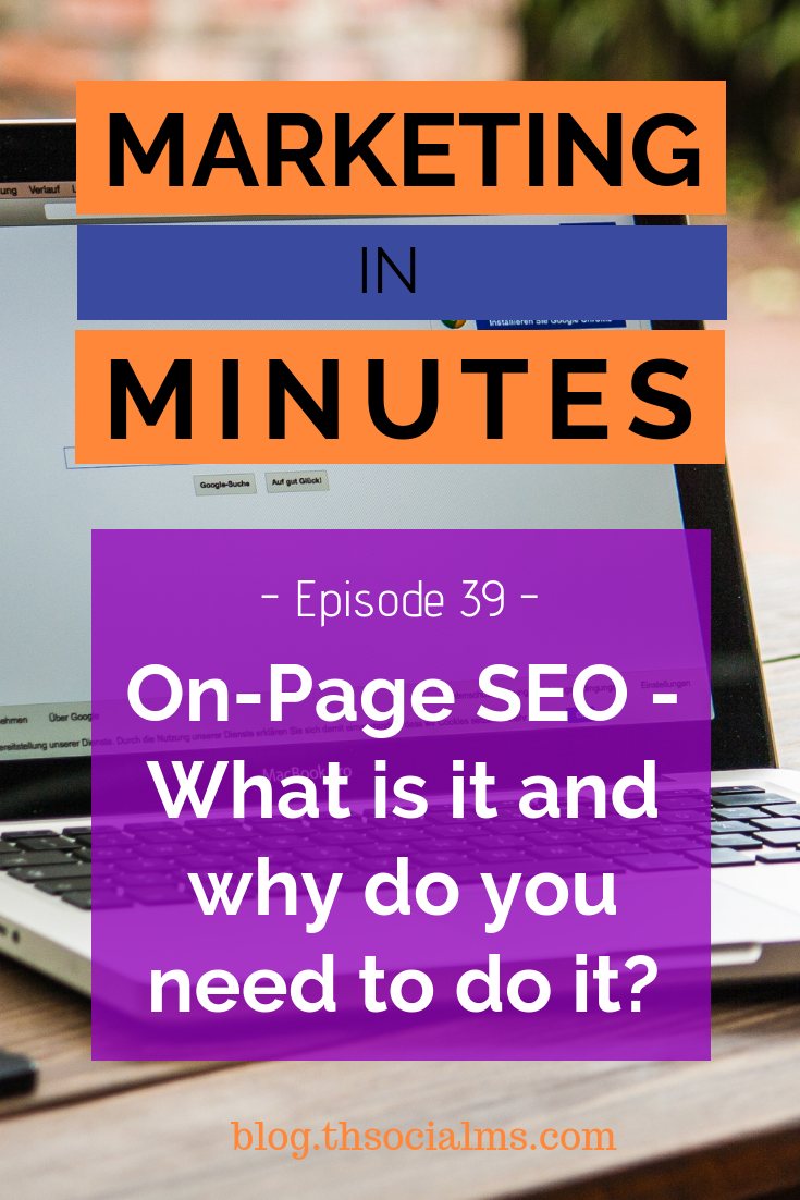 What's On-Page SEO, how do you do it, and why do you even need to do it? It's an important part of SEO, and without doing it, you will havea hard time ranking for any keyword! search engine optimization, seo #seo #bloggingtips #blogtraffic #searchtraffic