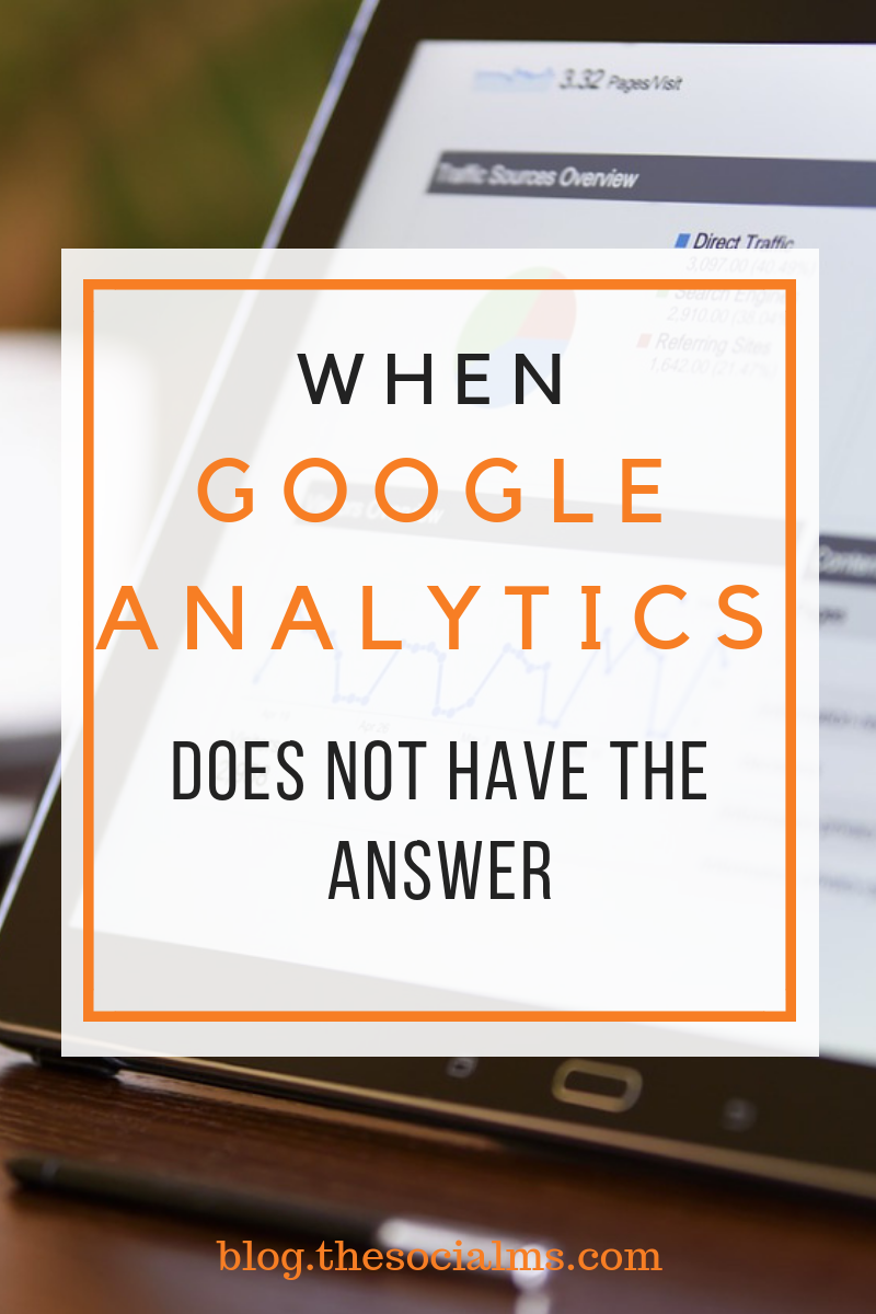 Google Analytics is a very powerful tool – but it's also an addictive and time-consuming piece of software – and if you check it too often, it can become a problem for your business. #marketingmetrics #blogmetrics #bloganalyics #googleanalytics #marketinganalytics #marketingdata #monitoring