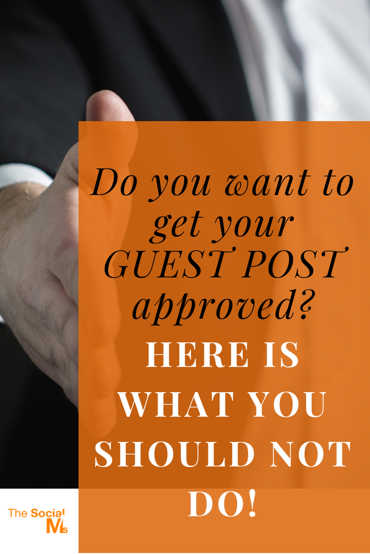 There are many blogs who no longer accept guest posts without any personal connection of the contributor to the blog owner(s). Here are the reasons why I turn down guest post submissions and what you should avoid when getting in touch. #guestpost #guestblog #guestposting #guestblogging #blogging101 #bloggingforbeginners #startablog #bloggingtips