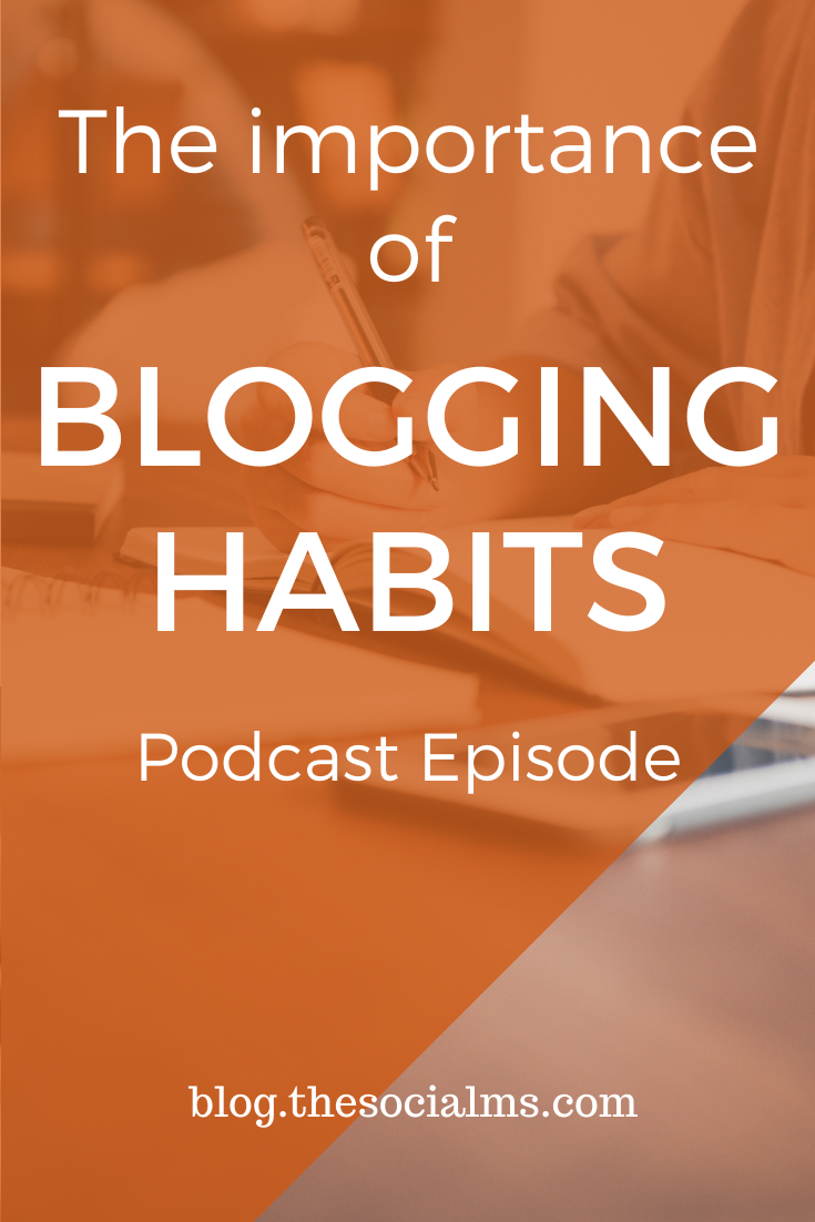 The one thing bloggers need to succeed isn't talent or creativity. It's persistence, and for that, you need blogging habits. Here is how to get into the habit of blogging. #blogging101 #bloggingforbeginners #startablog #bloggingtips #bloggingsuccess