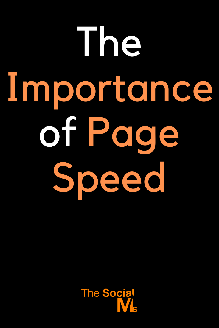 When your website doesn't load fast enough, you run into trouble... But why is page speed so important? And how can you make your WordPress blog run faster? #pagespeed #wordpress #blogging101 #startablog #bloggingtips #bloggingforbeginners #onlinebusiness