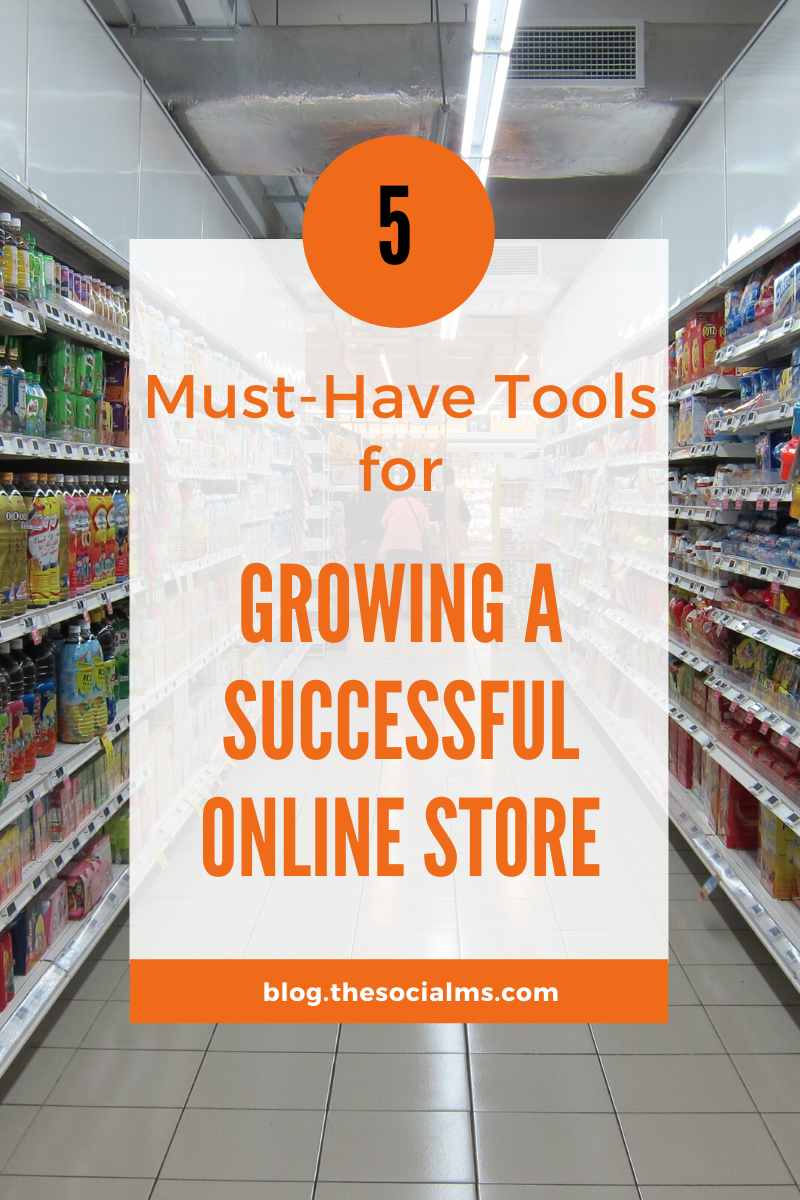 check out this roundup of essential tools designed to help you grow your eCommerce business so you can keep up with even the toughest of competitors out there. #onlinestore #ecommerce #onlinebusiness #salesfunnel #growyourbiz #smallbusinessmarketing #startupmarketing #marketingtools #