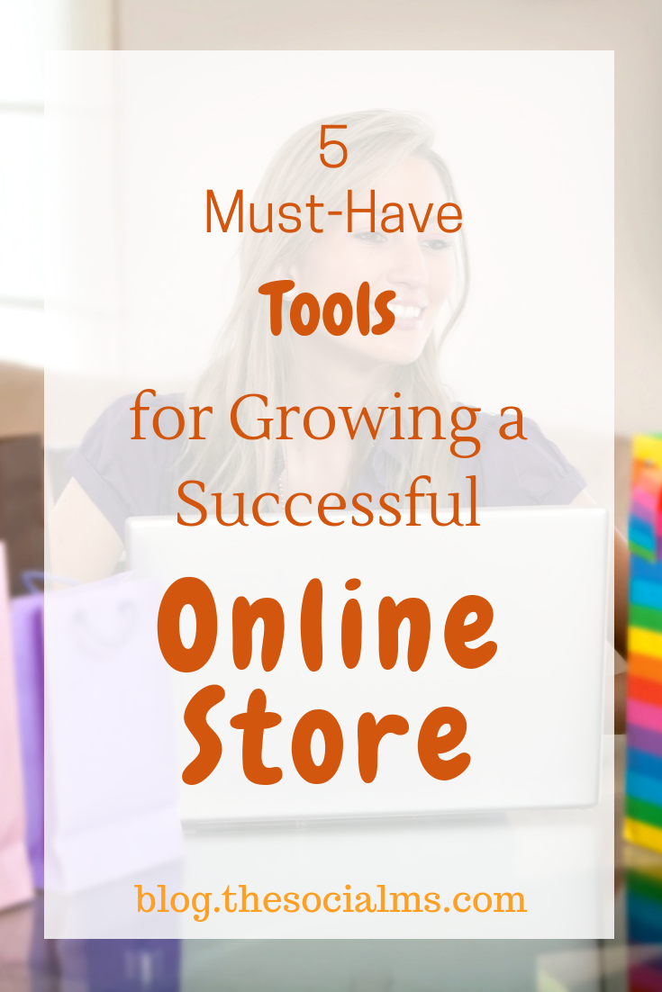 eCommerce success is on the rise. It's easy to launch an online shop. Here are the essential tools to help you grow your Online Store. #onlinebusiness #ecommerce #onlineshop #bloggingtips