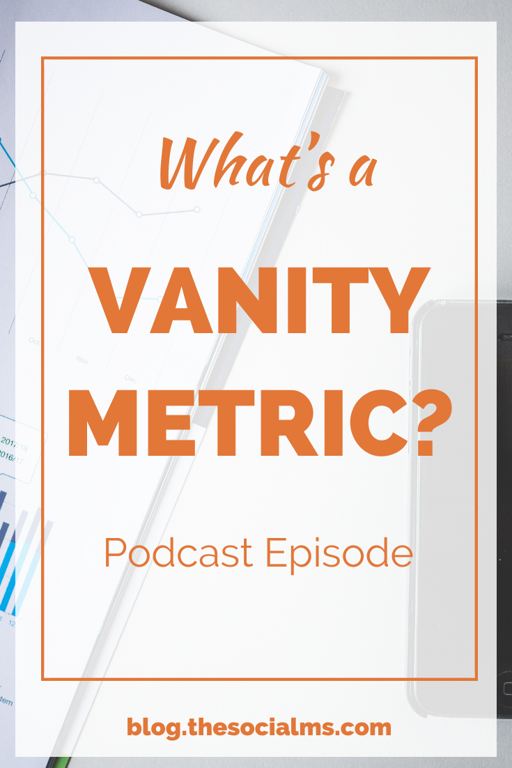 What's a vanity metric? In online marketing, data is important. But it's important to look at the right metrics - everything else is a vanity metric. #googleanalytics #marketingmetrics #blogmetrics #marketingdata #monitoring #analytics #marketinginminutes