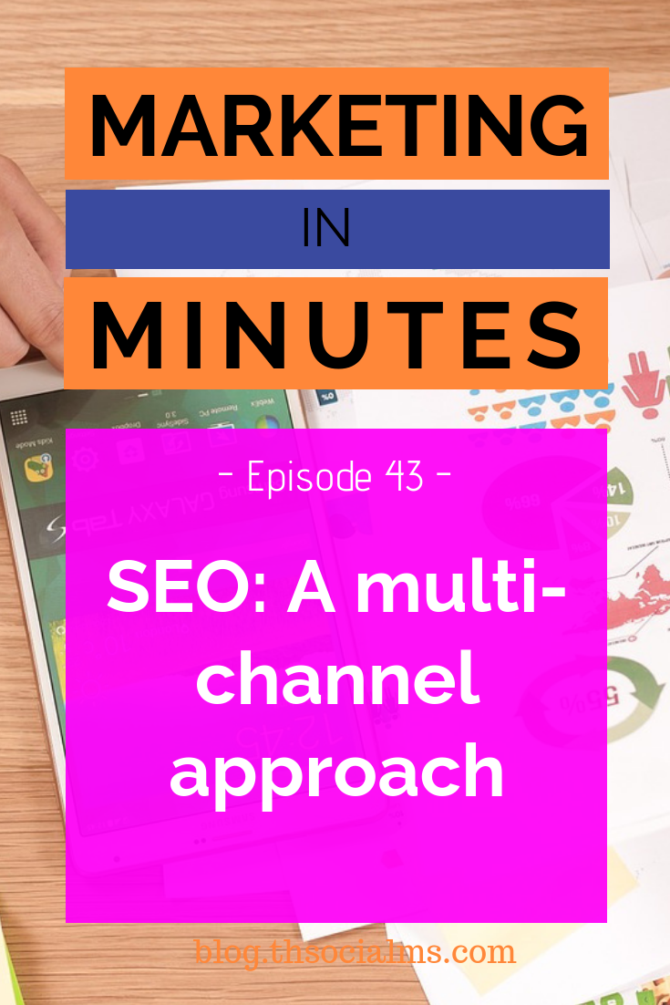 SEO in 2019 is changing: Building a brand and taking a multi-channel approach becomes more important and traditional link building becomes less important. Here is what that means. #seo #searchengineoptimization #googlesearch #searchtraffic #blogtraffic #trafficgeneration #marketinginminutes