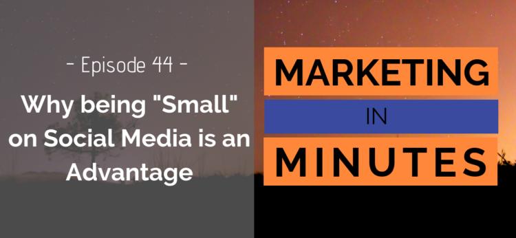 Marketing in Minutes - Social Media Marketing