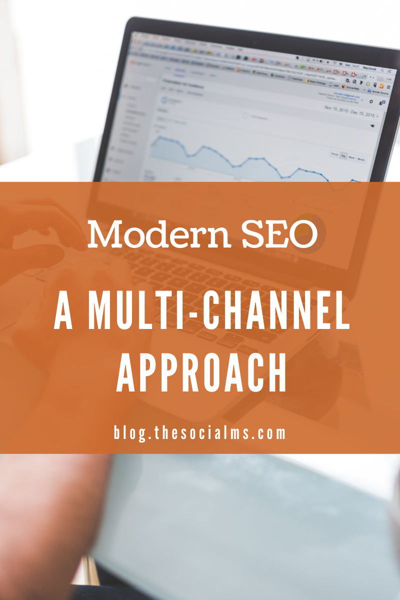 SEO is changing: Building a brand and taking a multi-channel approach becomes more important and traditional link building becomes less important. Here is what that means. #seo #searchtraffic #googlesearch #searchengineoptimization #blogtraffic #trafficgeneration #digitalmarketing
