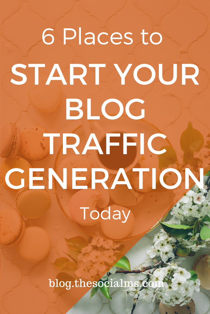 The best and most accessible sources for free blog traffic develop and even change with time. Here are the most important places you should consider for your blog traffic generation #blogtraffic #trafficgeneration #blogging101 #bloggingtips #bloggingforbeeginners #startablog #bloggingsuccess #blogpromotion