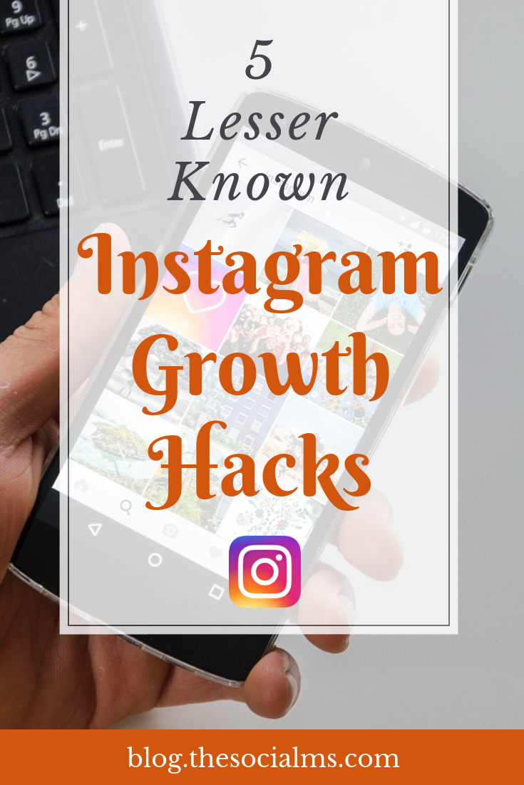 These five Instagram growth hacks, will help you grow Instagram success with a constant stream of new followers. They are even more powerful if combined. Instagram growth, Instagram followers, Instagram marketing success #Instagramtips #Instagrammarketing #Instagramfollowers #Instagramstrategy #Instagram