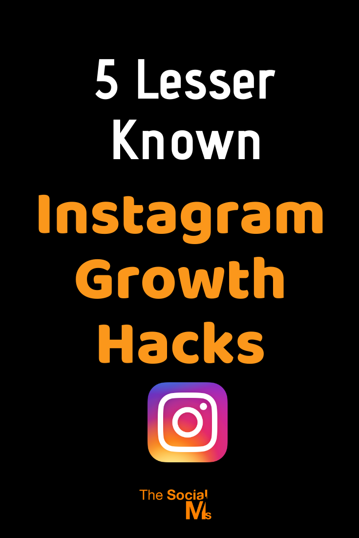 you already know who valuable your Instagram account can be. But your follower numbers are stagnating. with these five Instagram growth hacks, you can get it moving again with a constant stream of new followers! #instagram #instagramtips #instagrammarketing #growyourinstagram #socialmedia #socialmediatips #socialmediamarketing