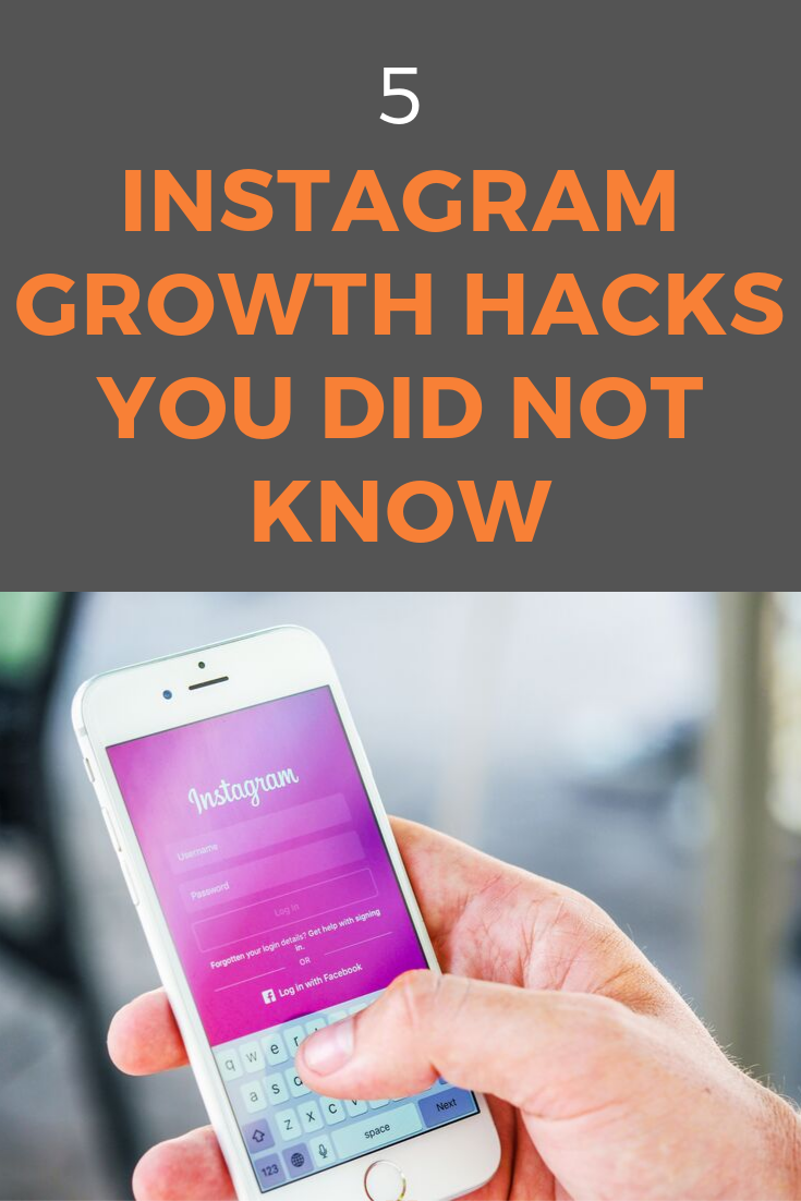 with these five Instagram growth hacks, you can get your Instagram growing with a constant stream of new followers #instagram #instagramgrowth #instagramtips #instagramgrowthhacks #socialmedia #socialmediatips #socialmediamarketing
