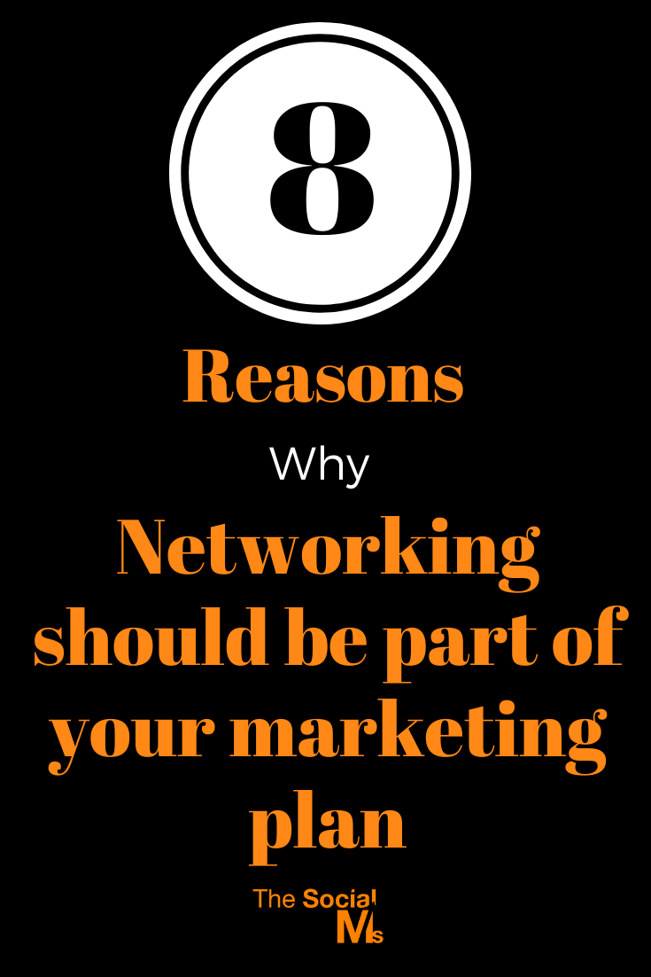 post is all about the benefits that a functioning network of valuable people can give you.  Here are 8 important reasons why you should include networking in your marketing strategy. #networking #bloggingtips #marketingstrategy #onlinemarketing #digitalmarketing #bloggingforbeginners #startablog