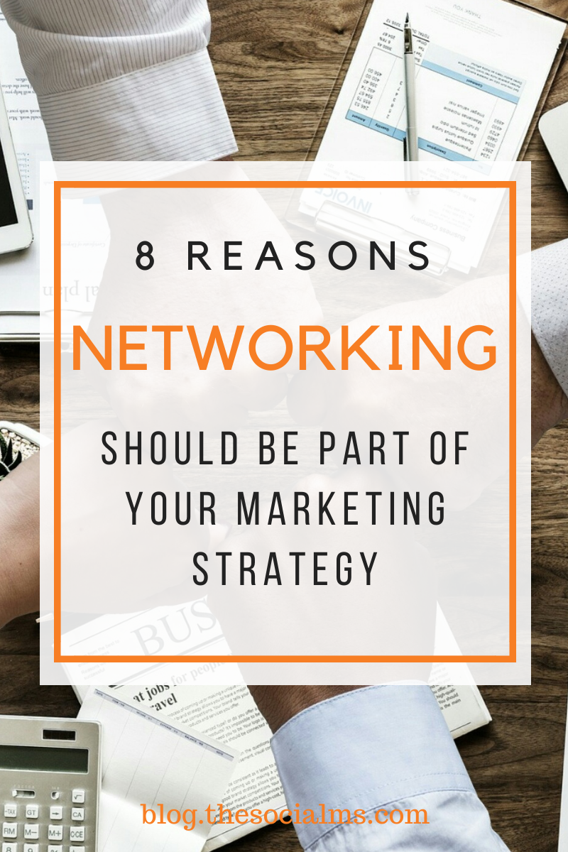 Never underestimate the power of an active, trusting and growing network.  Networking is about getting to know people. These people may or may not help you or your business. But they will introduce you to new people. And more new people. Be patient. Make friends. #networking #marketingstrategy #bloggingtips #digitalmarketing #onlinebusiness #startablog #bloggingforbeginners