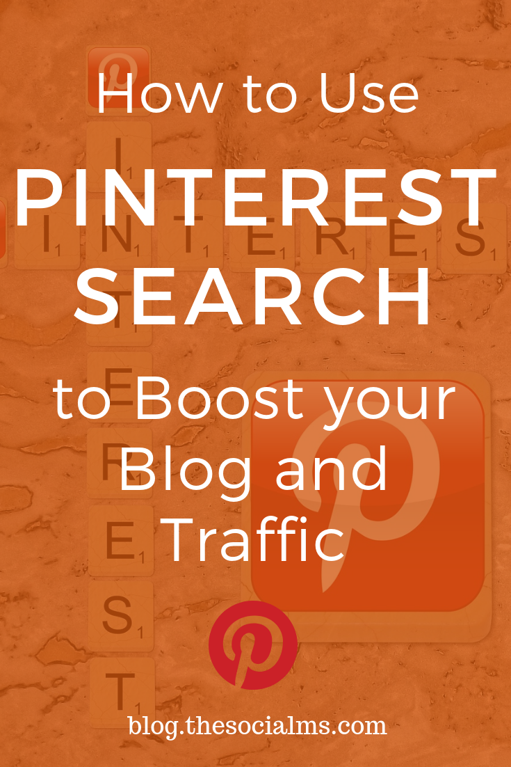 Learn how you can use Pinterest search to make your pins more popular on Pinterest and get a ton of highly converting blog traffic from Pinterest. Learn to optimize your pins for search and boost your Pinterest traffic. #pinterest #pinteresttips #pinteresttraffic #pinterestsearch #pinterestmarketing
