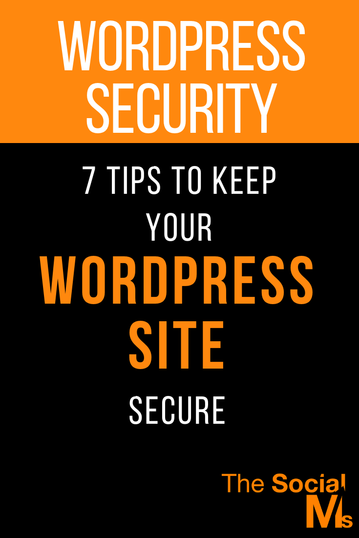 In our interconnected world, cybersecurity is a vital part of keeping information out of the wrong hands. WordPress also can be a frequent target for hackers and you should not neglect wordpress security. Here are important tips to keep your wordpress site secure. #wordpress #cybersecurity #wordpresssecurity #bloggingtips #bloggingforbeginners