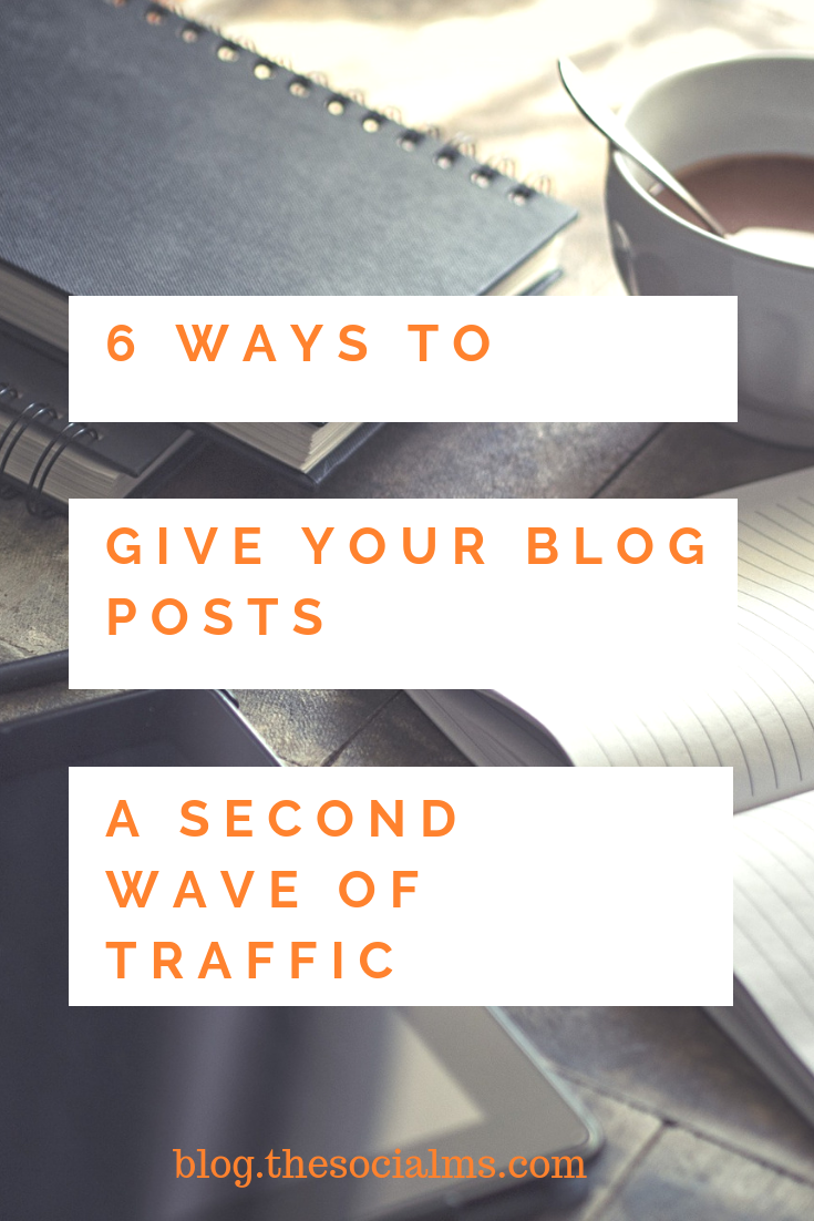 evergreen content that still includes a ton of valuable information is well worth the effort to try and give it some new blog traffic. #blogtraffic #trafficgeneration #bloggingtips #bloggingforbeginners #startablog #blogpromotion