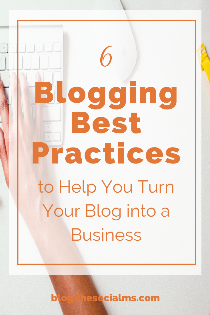 Make your blogging life easier with these 6 blogging best practices and tips that will help you stick to blogging and turn your blog into a business! blogging tips, start a blog with the best tips, learn how to turn your blog into a business #bloggingtips #bloggingforbusiness #onlinebusiness #startablog #bloggingforbeginners