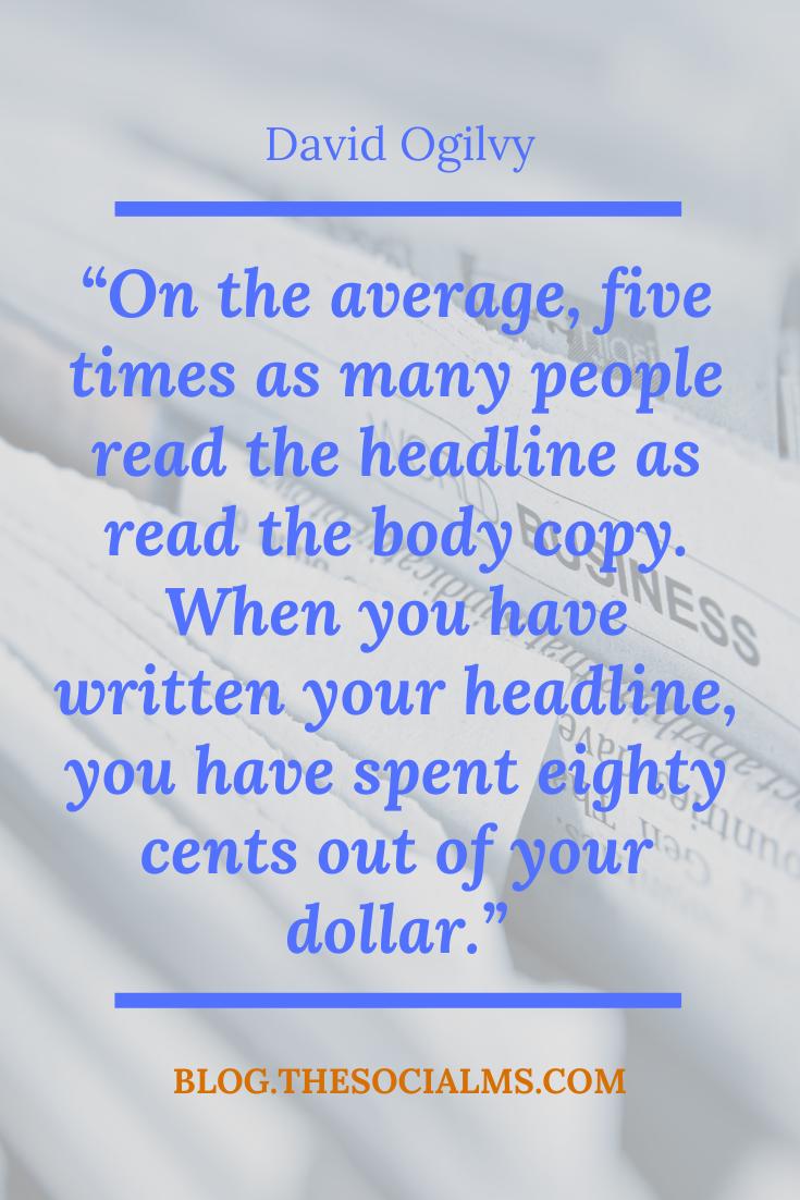 five times people read headline