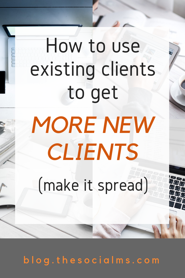 "Learn how you can ""use"" existing clients to help you convert more new clients with the methods of Clients-Convert-Clients marketing. Customer acquisition can become a lot easier if you tilize your happy customers. #onlinebusiness #makemoneyblogging #bloggingformoney #customeracquisition"
