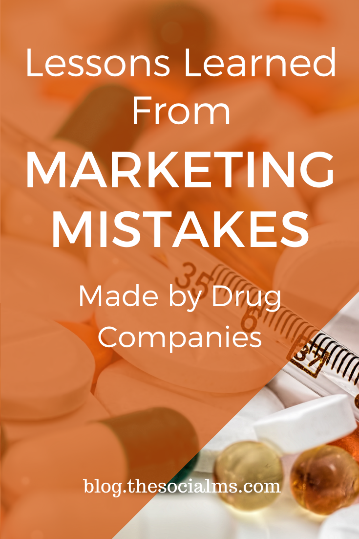 Like many industries, prescription drug companies have to market their products. While there are plenty of responsible drug companies out there, others create misleading ads filled with misleading information. And sometime that leads to marketing failure instead of making more money. Learn your lessons. #marketingmistakes #marketingstrategy #onlinemarketing #digitalmarketing #smallbusinessmarketing #entrepreneurship
