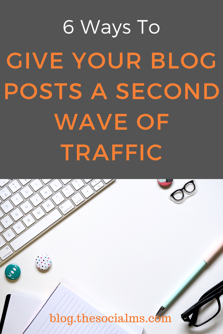 Never underestimate the traffic power of old content. That is why you need evergreen content on your blog. It will make your traffic generation so much easier and help you to earn consistent traffic to your blog. Here are 6 ways to get more traffic to your evergreen blog posts. #blogging101 #blogtraffic #trafficgeneration #startablog #bloggingforbeginners #bloggingtips
