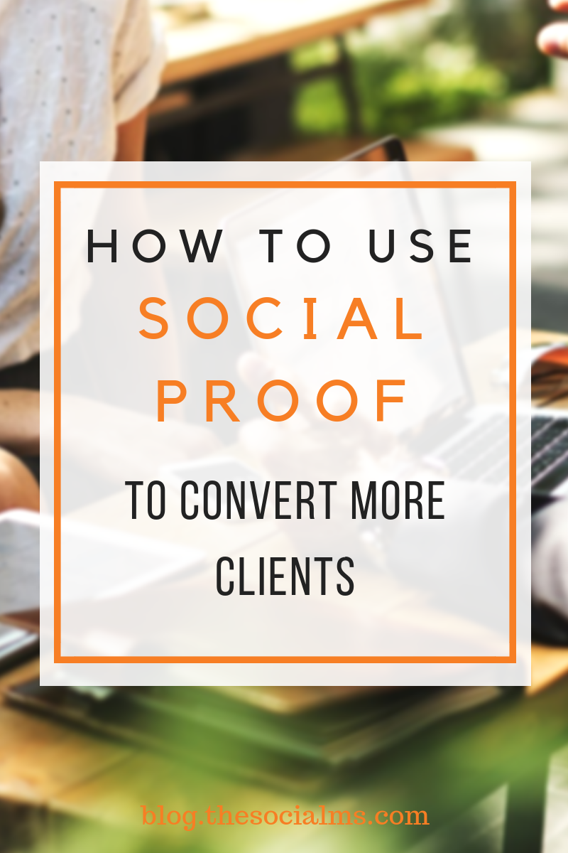 offer social proof to your potential clients to convert them into existing clients. The social proof can take many forms. We show you how to use social proof for more blogging and business success. #socialproof #conversionrates #salsfunnel #leadgeneration #makemoneyblogging #onlinebusiness #smallbusinessmarketing #entrepreneurship