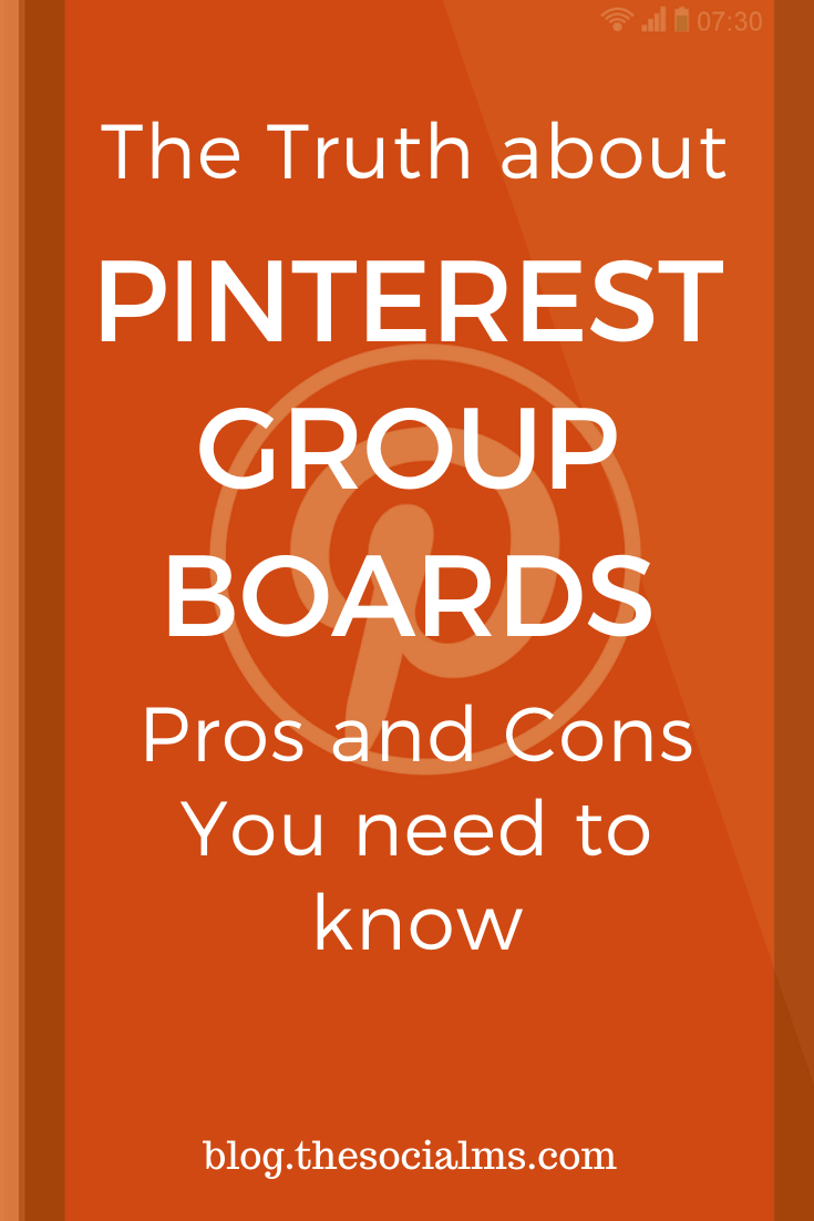 Whatever you decide to do with group boards, just keep in mind that every silver bullet comes with a secret risk. And group boards are no exception. Here is what you need to know about Pinterest group boards before you use them for your traffic generation. #pinterest #pinteresttips #pinterestmarketing #socialmedia #socialmediatips #socialmediamarketing